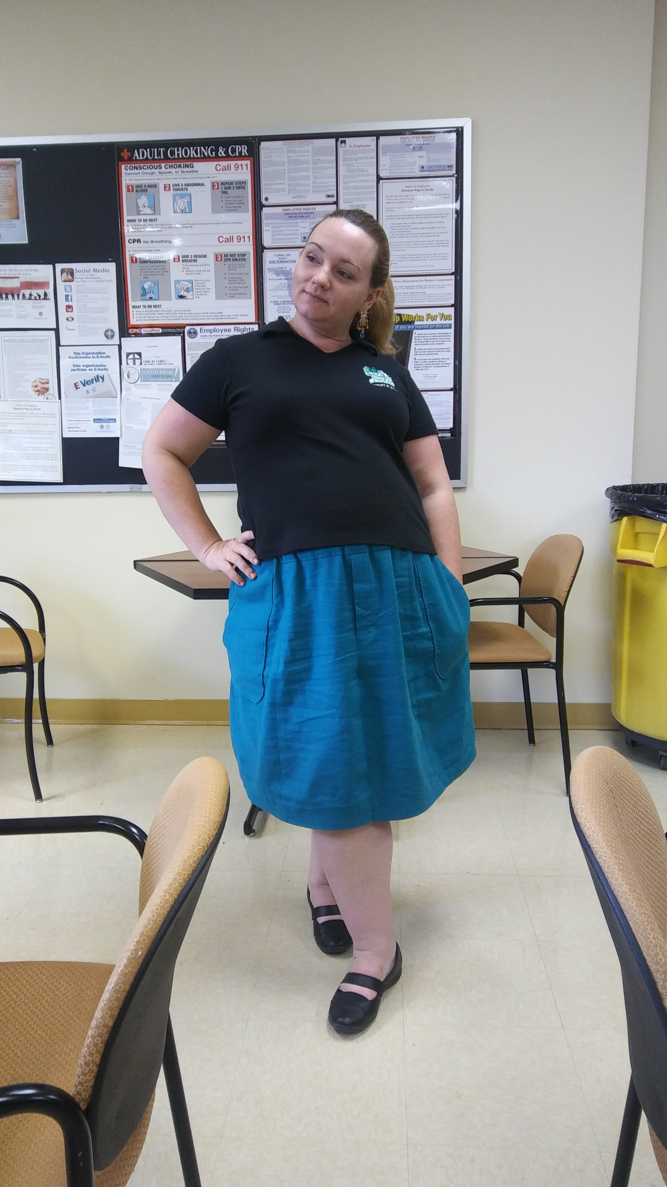 Short skirt big butt