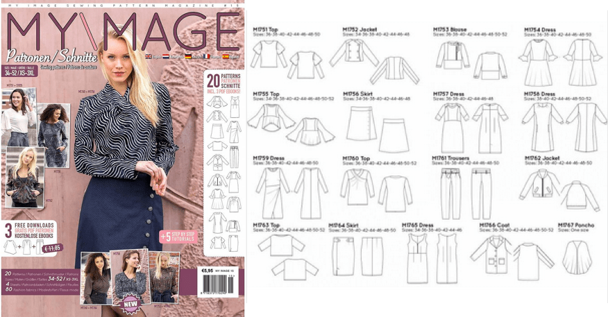 Introduction to Curvy Pattern Magazines