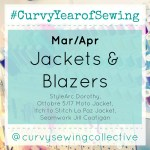 #CurvyYearofSewing March/April: Jackets & Blazers