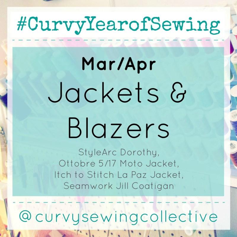 CurvyYearofSewing March/April: Jackets & Blazers