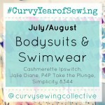 #CURVYYEAROFSEWING JULY/AUGUST BODYSUITS & SWIMWEAR!