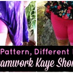 Same Pattern, Different Bodies: Seamwork  Kaye Shorts