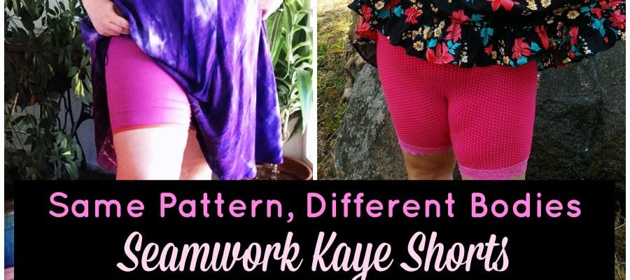 Same Pattern, Different Bodies: Seamwork  Kaye Shorts