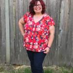 Pattern Review: Petite Plus Shapely Blouse