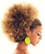 beyonce afro
