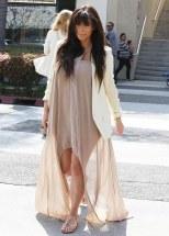 Kim Kardashian Lunches In Beverly Hills