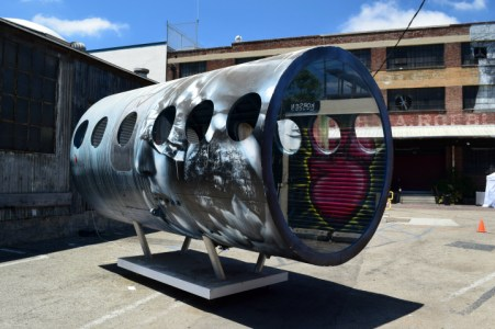 Painted Fuselage with Heart Reflection