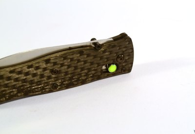 "Benchmade 530 custom scales ""light & light"""