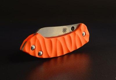 """Spyderco Pingo custom scales """"rescue"""""""