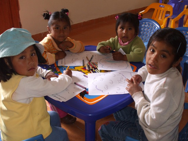 little ones coloring