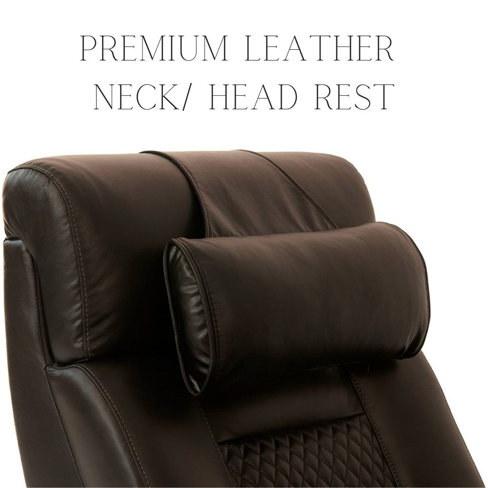 octane leather neck pillow