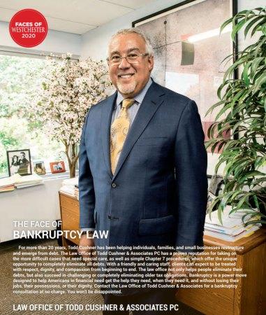 Todd Cushner Bankruptcy Attorney featured in Westchester Magazine