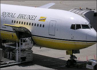 Getting to Brunei by Air