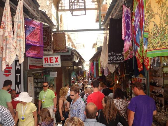 Shopping in Jerusalem