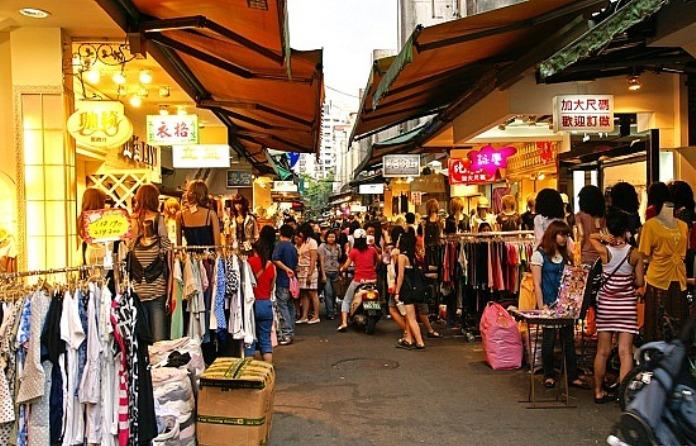 Shopping in Taipei, Taiwan