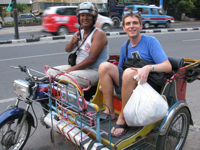 Getting around in Medan