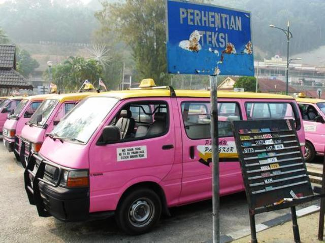 Getting around in Pangkor Island