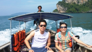 Getting around Krabi by river taxis