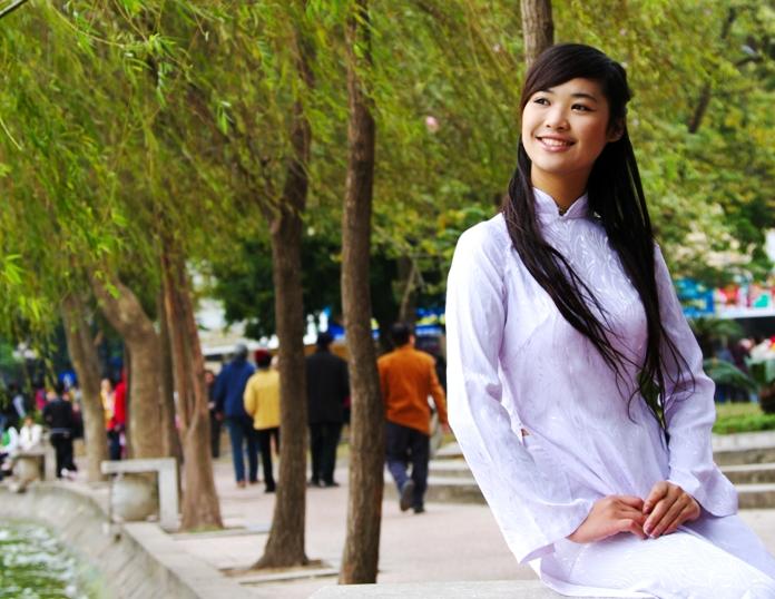 ao dai, traditional dress, vietnam