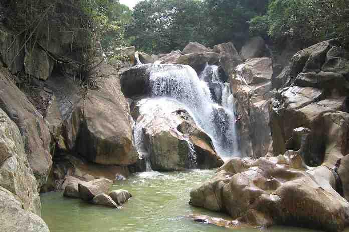 Ba Ho Waterfalls in Nha Trang