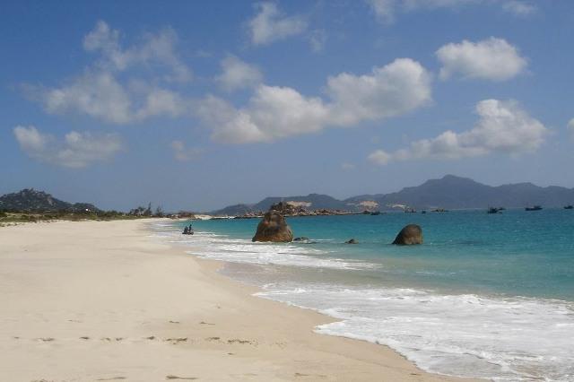 Cam Ranh Beach in Nha Trang