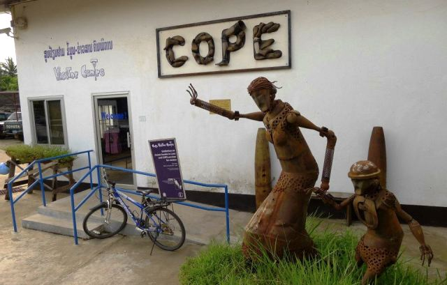 Cope Visitor Centre in Vientiane