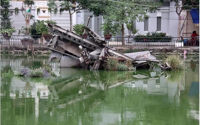 Downed Aircraft Memorial in Hanoi