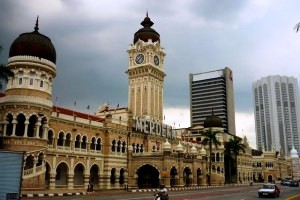 Independence Square in Kuala Lumpur