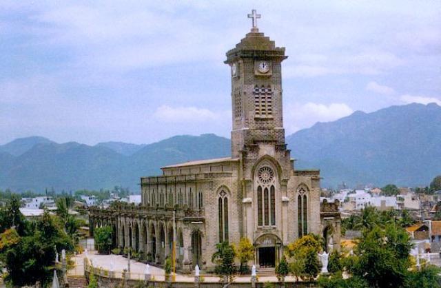 Nha Trang Cathedral in Nha Trang