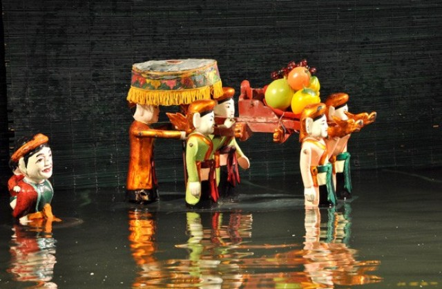 Thang Long Water Puppet Theater in Hanoi