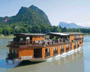River Cruising in Vientiane