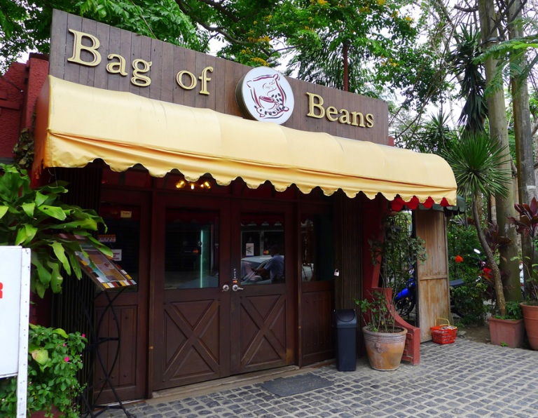 bag of beans, tagaytay, philippines