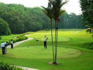 Golf in Batam Island