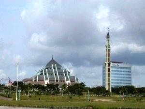 Batam City Square in Batam Island