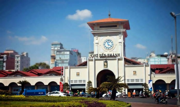Ben Thanh Market in Ho Chi Minh