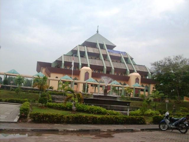 Grand Mosque in Batam Island