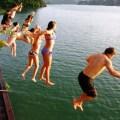 swimming, hue, vietnam