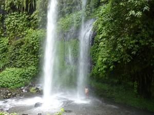 Air Terjun Sindang Gila in Lombok
