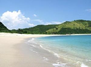 Mawun Beach in Lombok
