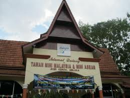 The Unique Taman Mini Malaysia And Mini Asean Park