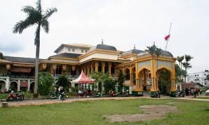 Istana Maimun Palace in Medan