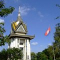 Liberation Memorial in Phnom Penh