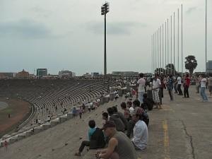 Olympic Stadium in Phnom Penh