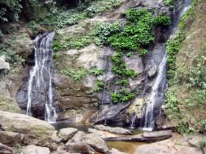 Aniuan Falls in Puerto Galera