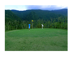 Ponderosa Golf Course and Country Club in Puerto Galera