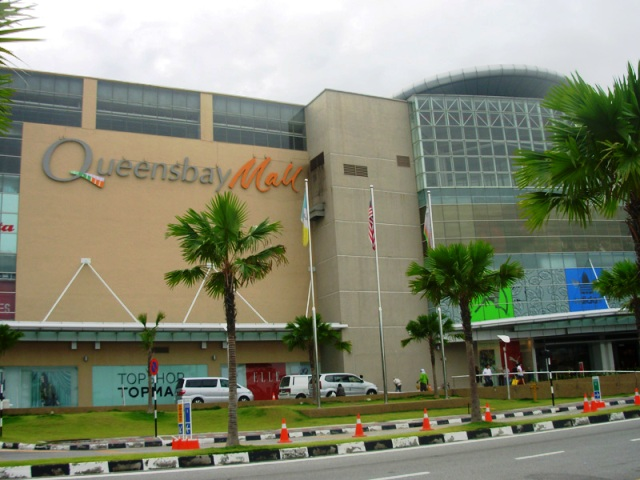 Queensbay Mall in Penang