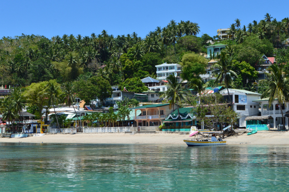 Sabang Beach in Puerto Galera