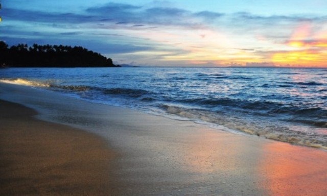 Senggigi Beach in Lombok
