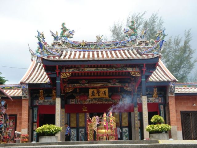 Snake Temple in Penang