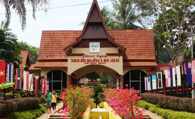 Taman Mini Malaysia and Mini Asean in Malacca